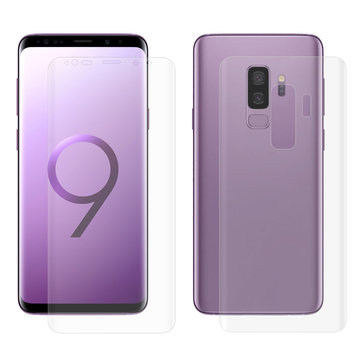 Enkay 3D Curved Edge Hot Bending Front & Back PET Screen Protector For Samsung Galaxy S9 Plus