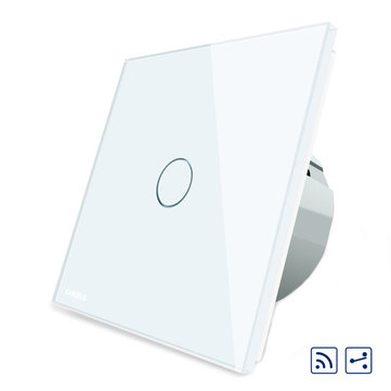 Livolo White Glass Touch Panel Intermediate