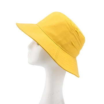 Women Breathable Dress Bucket Caps Sunshade Beach Hats