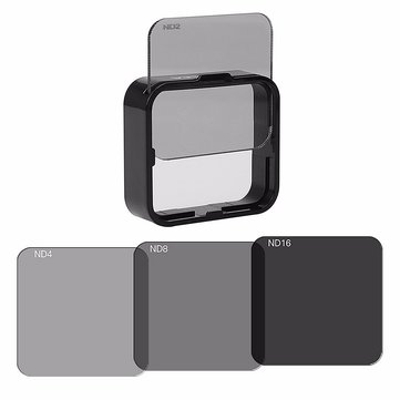 ND Filter Lens Set Kit ND2 ND4 ND8 ND16 For GoPro Hero 3 3 plus 4