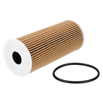 Engine Oil Filter Paper Element for VW Sk0da Superb Octavia Seat F0rd A6 A4