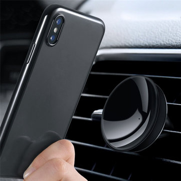KISSCASE Mini Powerful Suction Car Air Vent Holder Mount for iPhone Xiaomi Mobile Phone