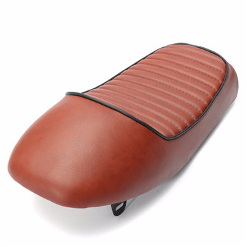 Retro Saddle Hump Cafe Racer Seat Pad Cushion For Honda CB400 CB500 CB550 CB750