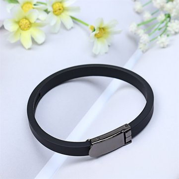 Multicolor Anti-static Titanium Ionic Sport Bracelet Band