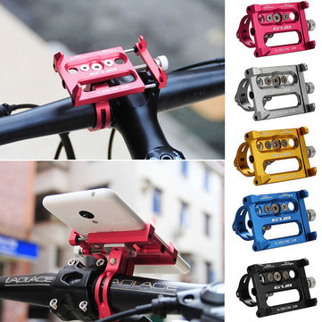 GUB G-86 Aluminum Bicycle Mount Adjustable Shockproof Phone Bike Holder Bracket Stand for Smartphone