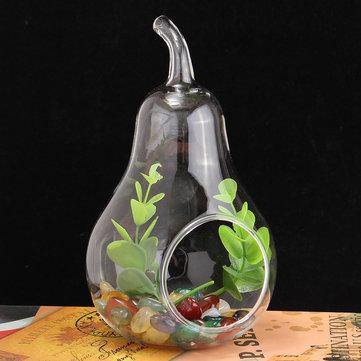 Crystal Glass Flower Vase Terrarium Container Hydroponic Wedding Vases Decorations