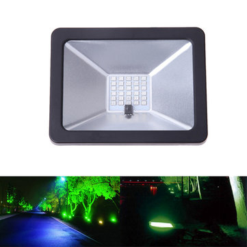 30W Remote Control Colorful RGB SMD LED Flood Light Waterproof IP65 for Outdoor Courtyar AC85-265V