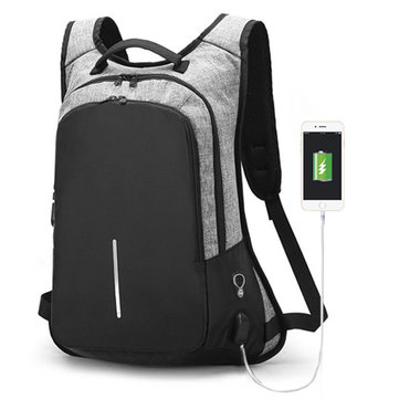 15.6 Inches Laptop Men Custom Lock Business Backpack