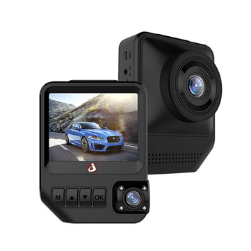 JUNSUN Q2 2.31 Inch TFT FHD WiFi WDR TF Card 3.35M Power Line Car DVR with 140 Degree Wide Angl