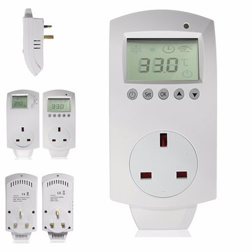 Electric Digital Temperature Controller Programmable Heating Thermostat