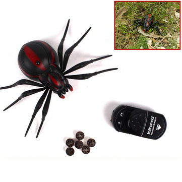 Infrared Tricky Simulation Remote Control Insect Spider Toys Funny Kids Children Props