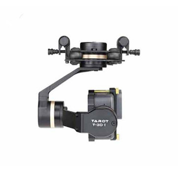 Tarot TL3T05 Gopro 3DⅣ Metal 3-Axis Brushless Gimbal PTZ for Gopro Hero 5/6 FPV Racing