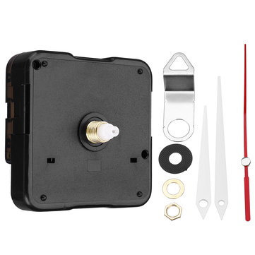 13.5mm Quartz Silent Clock Movement Mechanism Kit Hour Minute Second Hand Clock Movement