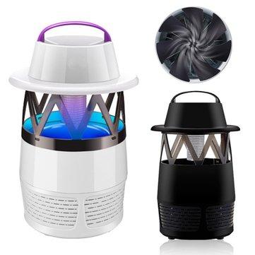 電気モスキート昆虫キラーランプUV LEDフライザッパ屋内の夜間ライトUSBサイレントトラップランプ