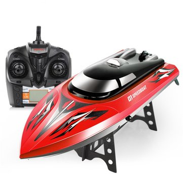 SYMA Q1 2.4G 43cm 180 Degree Flip Rc Boat 30km/h High Speedboat With Water Cooling System