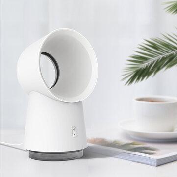 Xiaomi Happy Life 3 in 1 Mini Cooling Fan Bladeless Desktop Fan Mist Humidifier w / LED Light