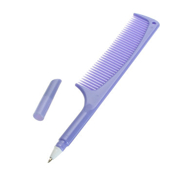 Creative Lovely Comb Pen Ballpoint Pens Stationery Plastic Office School Supplies