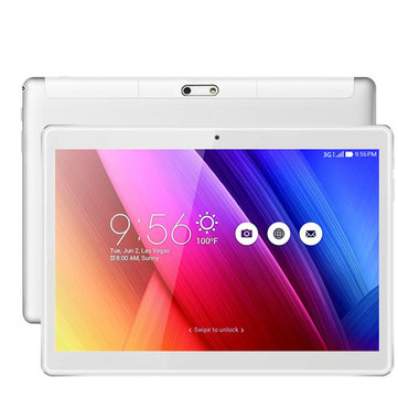 Binai Mini 101 32GB MTK6580 Cortex A53 Quad Core 10.1 Inch Android 6.0 Dual 3G Phablet Tablet Silver