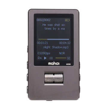 Mahdi M390 8GB HIFI Lossless A-B Repeat Music Player MP3 Support TF Card FM Voice Record
