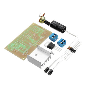 DIY DC/AC To DC LM317 Power Continuous Adjustable Voltage Regulator 1.25V-37V With Protection Kit