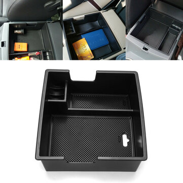 Car Armrest Console Storage Box Tray for Ford Everest 15-18
