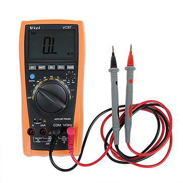 MINI VICI VC97 + 3999 LCD Digital Multimeter Current Voltmeter Auto Range Tester