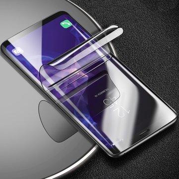 Cafele Temizle 3D Kavisli Kenar Kendini onarma Hidrojel Telefon Ekran Koruyucusu Ile Aletler Için Samsung Galaxy S9