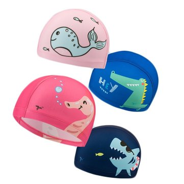 Original Xiaomi 7th Gorro de natación para niños Anti-UV Flexible Soft Durble Quick Drying Swim Protective Gear