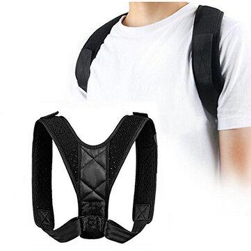 Posture Clavicle Support Corrector Back Straight Shoulders Brace Strap Correct Back Support