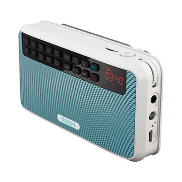 Rolton E500 Portable Wireless Bluetooth Speaker 1500mAh FM Radio TF Card Hands-free Outdoors Speaker