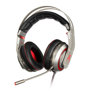 Xiberia T19 Virtual 7.1 Channel Surround Sound USB Wired Gaming Headphone Headset with Mic