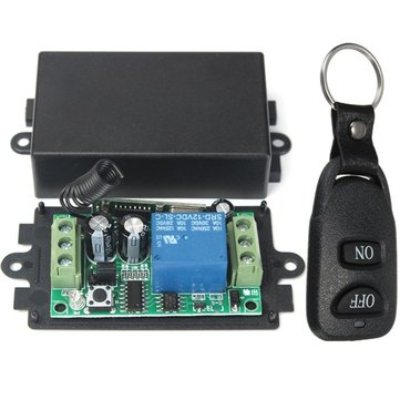 5Pcs Geekcreit® DC 12V 10A Relay 1CH Channel Wireless RF Remote Control Switch Transmitter With Receiver
