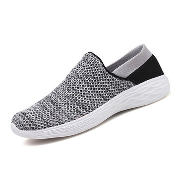 Men Casual Comfy Light Weight Slip On Sneakers