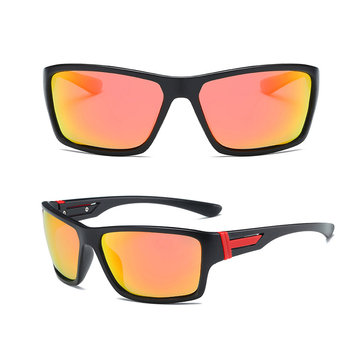 DUBERY D2071 HD Polarized Sunglasses Men Women Driving Shades Anti-glare UV400 Protection Goggles
