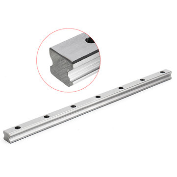 Machifit HGR20 Linear Guide Rail 400mm Length Square Linear Rail for HGH20 Slider Block CNC Parts