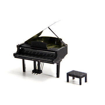 Aipin Piano DIY 3D Puzzle Stainless Steel Model Kit