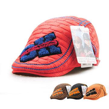 เด็กผู้ชายเด็กหญิงปรับเย็บปะติดปนตองหมวก Beret จดหมายแคชชวล Caps Snapback Breathable