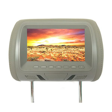 M-7667 7 Inch Car Head Rest Monitor HD LCD Color Monitor Display