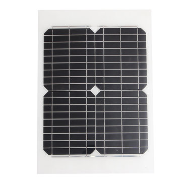 20W 12V Mono Solar Panel Battery Charging + 3m Cable For Caravan Boat Motor Home