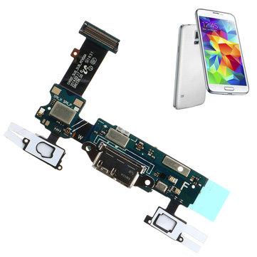 Зарядка порта Dock Micro USB Коннектор Flex с микрофоном для Samsung Galaxy S5 G900F