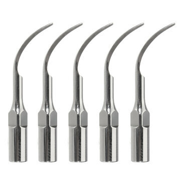 5pcs P1 Dental Handpiece Ultrasonic Scaler Perio Scaling Tip Teeth Cleaner Needle For EMS/WOODPECKER