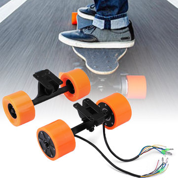 550W 90MM 6364 Dual Hub Brushless Motor Drive Wheel Kit For Electric Skateboard Longboard