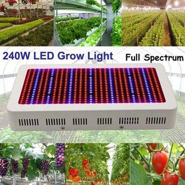 240W Gardening Full Spectrum LED Plant Grow Light Greenhouse Plant Seedling Lamp