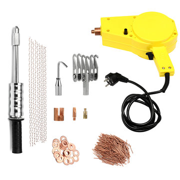 220V 2000W Stud Welding Slide Hammer Dent Puller Panel Beater Removal Repair Tool Kit for Auto Body