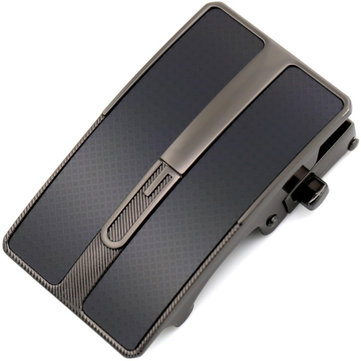 Alloy Automatic Men Leather Belt Buckle For 3.5CM Wide Belt