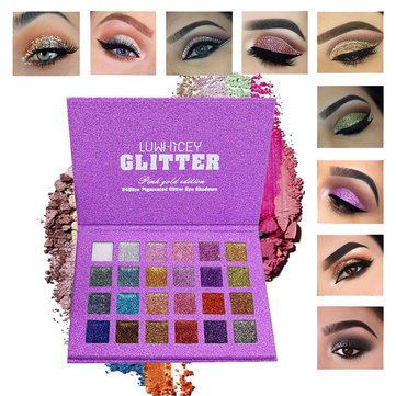 24 Colors Glitter Shimmer Eye Shadow Palette