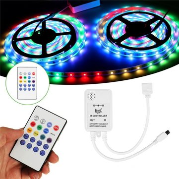 DC5-24V Mini Wireless Controller Music Remote Control for RGB RGBW LED Strip Light