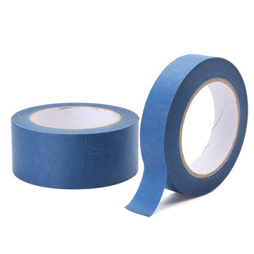 50m Blue Paint Tape Painter Masking Adhesive for Car House Painting 24/48mm