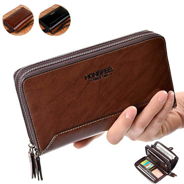 PU Clucth Wallets Handy Bags Phone Card Holder Wallet