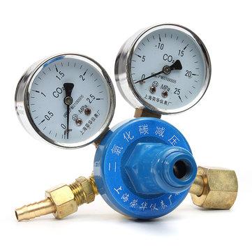 G5/8 CO2 MIG Welding Regulator Pressure Reducing Valve For PUB Gas Bottles